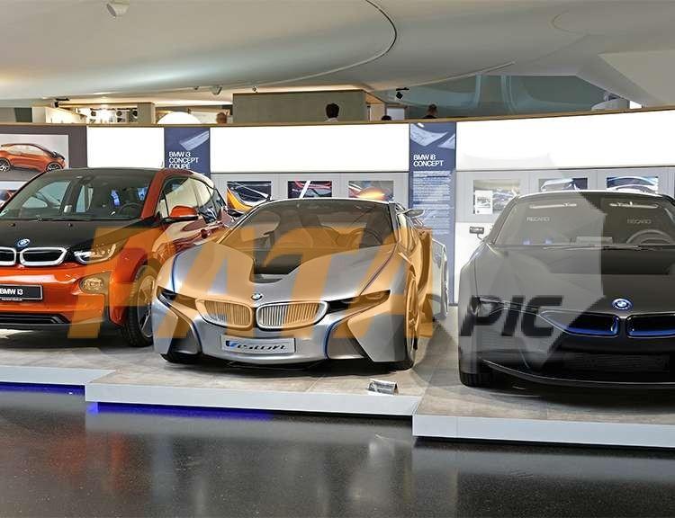 BMW i3 i8 concept ecology car